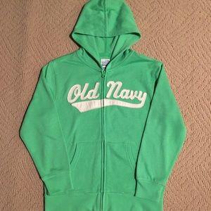 OLD NAVY NWOT zip hoodie